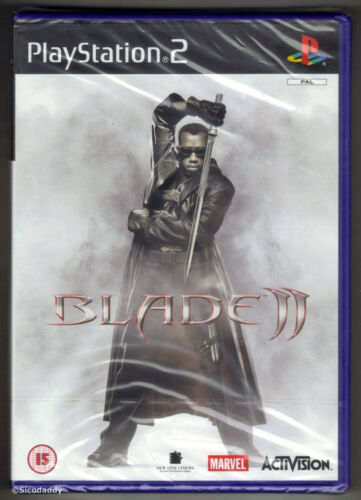 1 of 1 - PS2 Blade 2 (2002), UK Pal, Brand New & Sony Factory Sealed