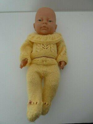 """16"""" Baby Boy Neonato Bambola-realistico-anatomicamente Corretta + Vestito-"""