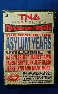 New-Sealed-TNA-2010-Asylum-Years-Volume-1-2-disc-set-DVD-SHOPTNA-wwe-wcw-roh