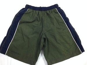 SPEEDO-Boy-039-s-Swim-Trunks-Size-Small-Green-Lined-Bathing-Suit