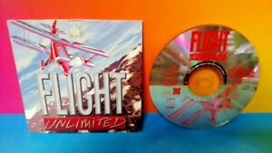 PC-Computer-Game-Flight-Unlimited-Special-Edition-1996-Tested-Works-Rare