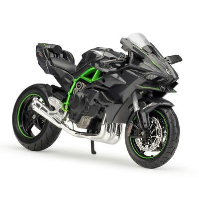 Maisto Kawasaki Ninja H2 R H2rh 2r Black 1 12 For Sale Online Ebay