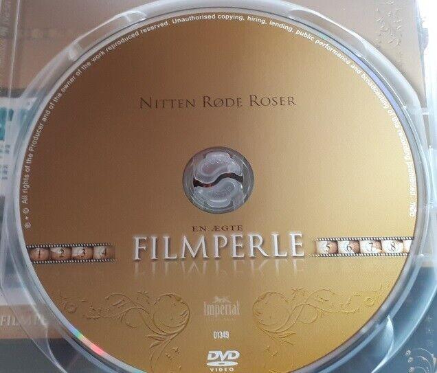 NITTEN RØDE ROSER - DANSK KRIMINAL FILM, instruktør Esben