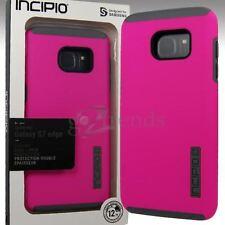 INCIPIO DualPRO Drop Protection Cover Case for Samsung Galaxy S7 EDGE Pink Gray
