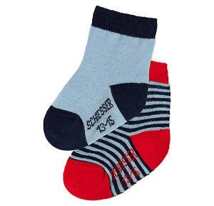 SCHIESSER Babysocken Babysöckchen 2er Pack Gr 13-15 16-18 Socken NEU