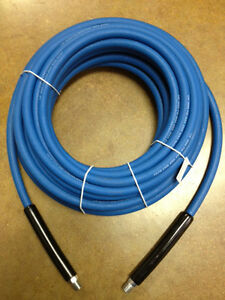 """50' CARPET CLEANING HIGH PRESSURE SOLUTION HOSE 1/4"""" BLUE NEW 3000 psi NEW"""