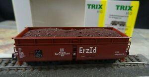 Trix 24120-06 H0 Selbstenladewagen Erz Id DR Saarbrücken 5254 neuwertig OVP DK86