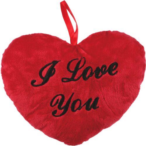 """Coussin cœur /""""I love you/"""" Amour sort cadeau amitié Partenaires amie"""