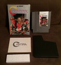 Contra Nintendo Nes ~ Complete In Box w Manual! Very Good Condition! ~Fast Ship!