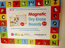 2 Bnlif Magnetic Dry Erase Board Frame Drawing Board Writing Whiteboard