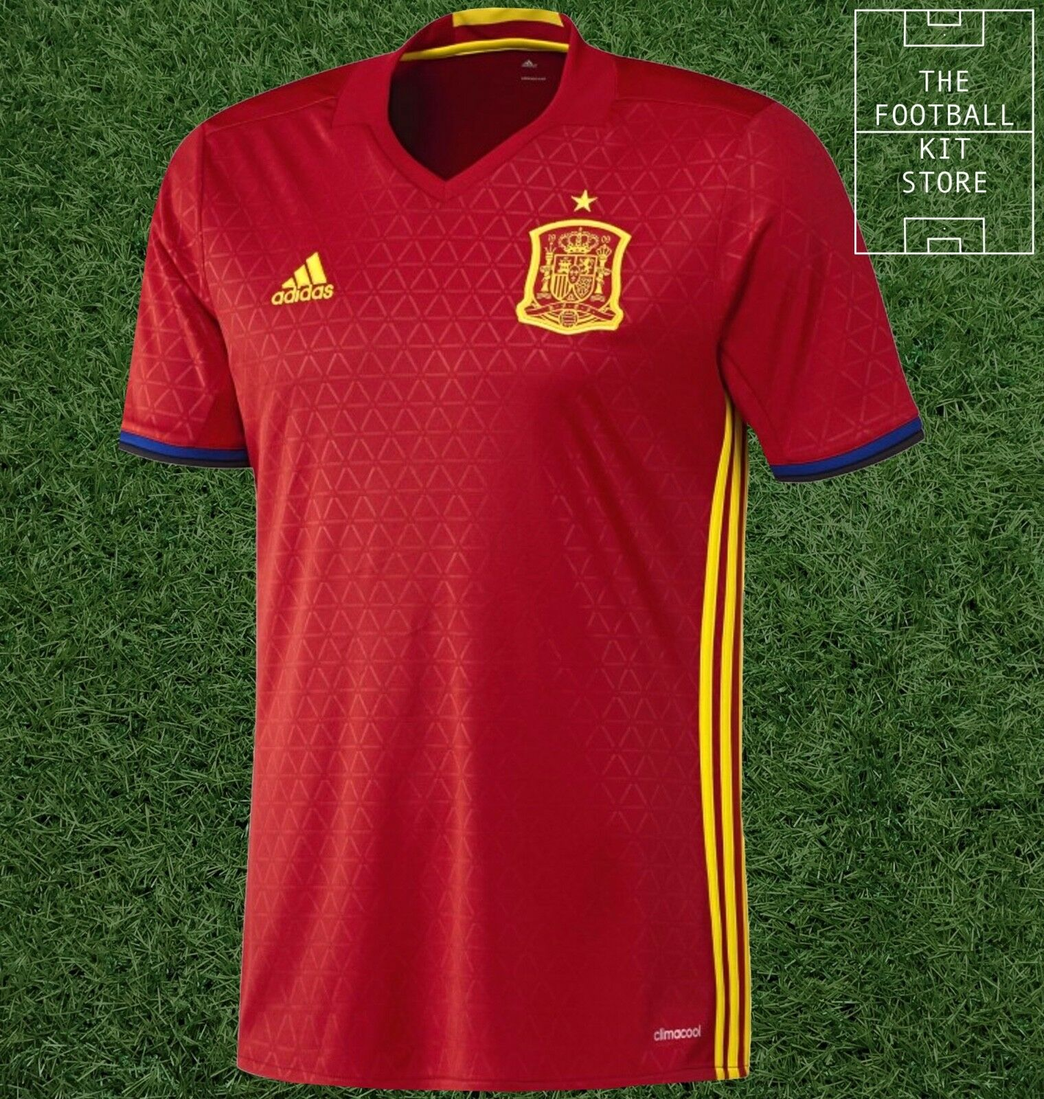 Spain Home Shirt - Official adidas Football Jersey - Mens - All Sizes