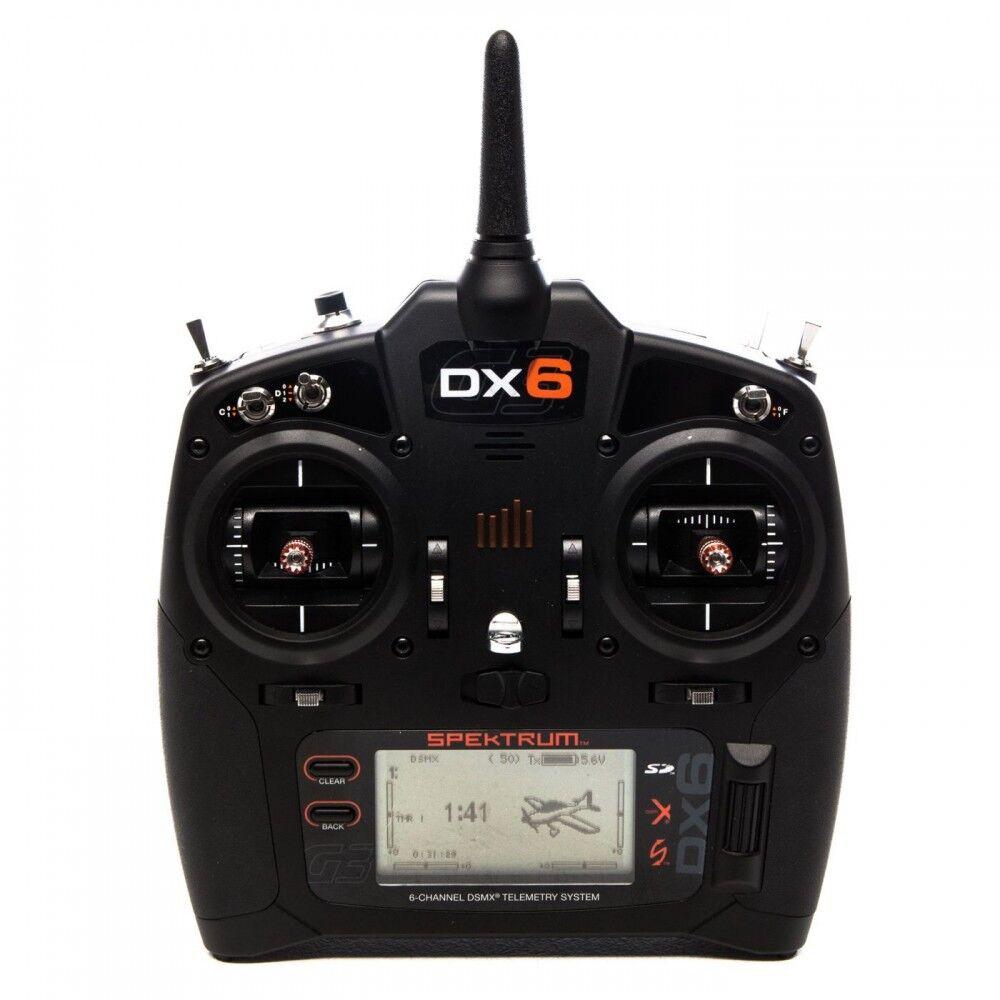 Spektrum dx6 sender nur mode 2 g3 spmr6750
