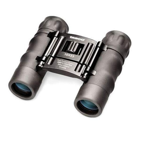 New Tasco Essentials 10x25 Roof Prism Binoculars