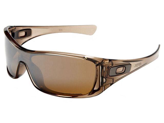Oakley Antix Polarized Sunglasses Brown Smoke  Tungsten Iridium   eBay fd305cce924d