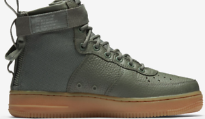 Details about Nike Women's SF AIR FORCE 1 MID Shoes Dark Stucco AA3966 004 SIZE 12