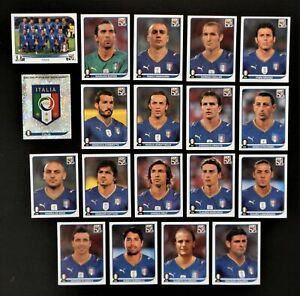 Panini-coupe-du-monde-2010-Italie-Italy-equipe-equipe-COMPLETE-SET-WORLD-CUP-WC-10
