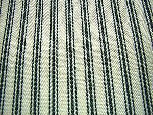 Extra-Wide-Black-Cream-French-Curtain-Ticking-Stripe-Fabric-214cm-Wide-Per-Mtr