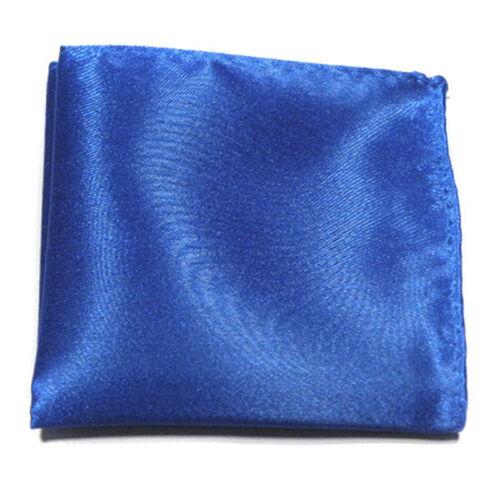 Trendy Men Handkerchief Silk Hanky Pocket Square Paisley Wedding Party Fashion