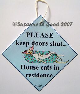 Siamese-Cat-art-sign-redpoint-in-residence-from-painting-by-Suzanne-Le-Good