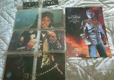 """Michael Jackson """"Souvenir Singles Pack"""" Bad Tour 88 Köln Viuyls Epic Privates"""
