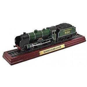 SCHOOLS-CLASS-4-4-0-SR-1-100-Ferrocarril-Locomotora-Atlas-Modelo-estatico