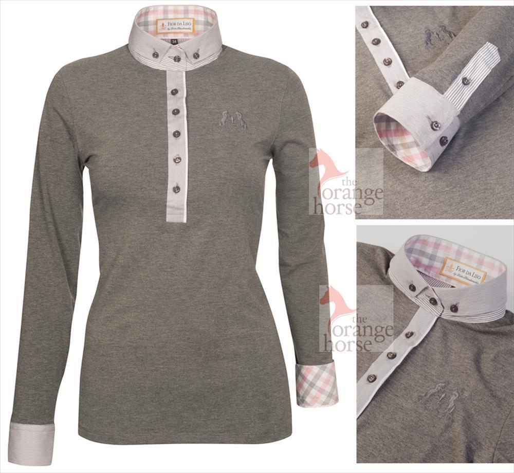 Fior da Liso Damen Poloshirt Dunja    Outlet Store    Feinbearbeitung    Qualität und Verbraucher an erster Stelle