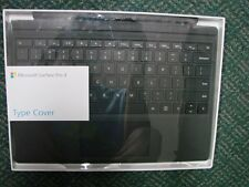 Microsoft Surface Pro 3 and 4 Keyboard Type Cover Black Qc7-00001
