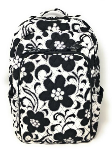 01a9af5b3a Vera Bradley Campus Backpack School Book Bag Laptop Night and Day Tote