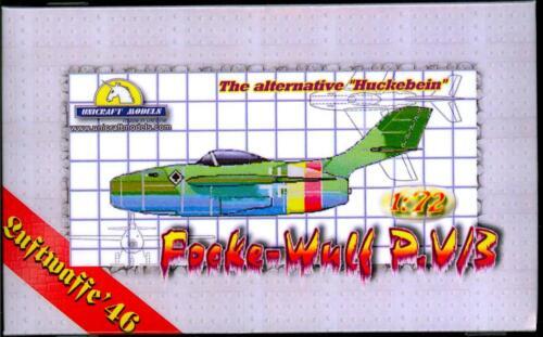 Unicraft Models 1//72 FOCKE WULF P.V//3 German Jet Fighter Project