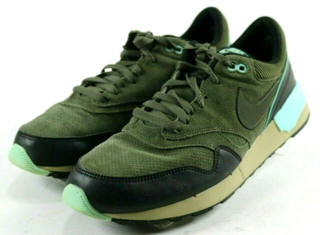 reputable site 09312 83598 Nike Air Odyssey $130 Men's Running Shoes Size 12 Olive Green Black