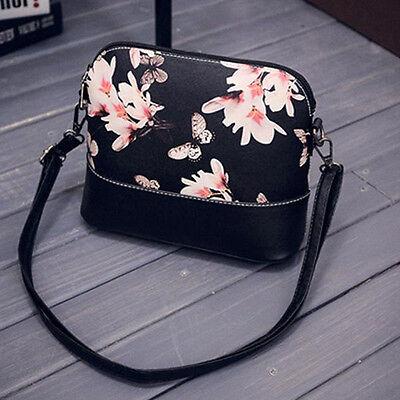 Neu Mode Blumen Damentasche Handtasche Stofftasche Bag Schultertasche