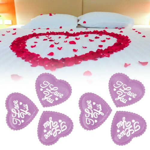 100pcs//Set Sponge Love Heart Shaped Romantic Wedding Anniversary Party Decor