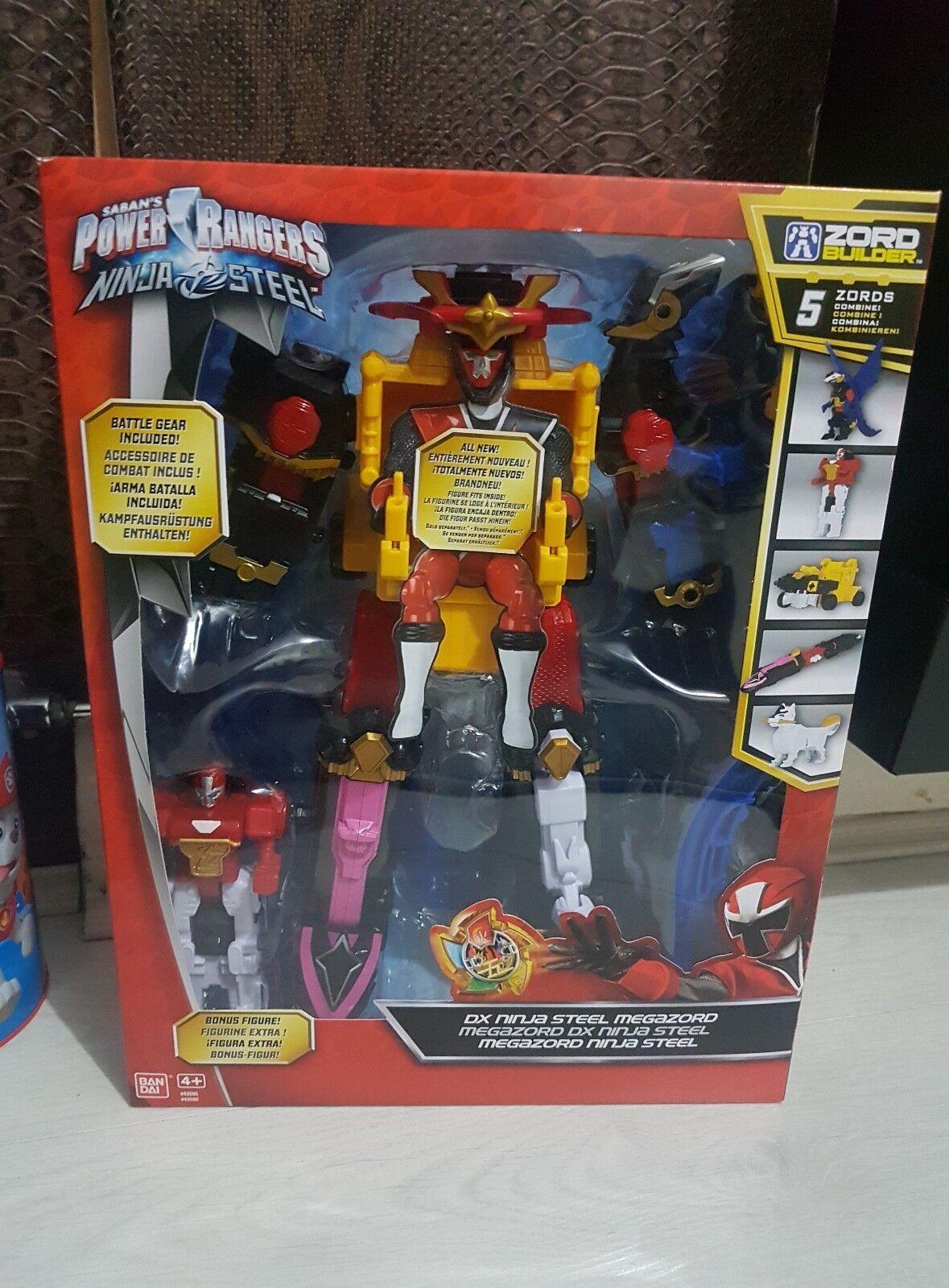 Power Rangers Ninja Steel - Deluxe Ninja Steel Megazord - Brand New