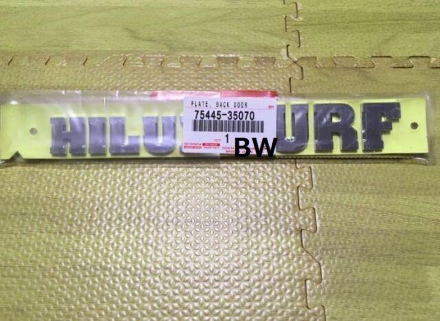 """OEM Toyota 75445-35070 03-09 4Runner /""""Hilux Surf/"""" Rear Emblem Genuine Part JDM"""