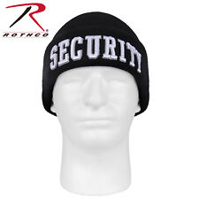 53e966884c4 item 8 Security Watch cap winter hat embroidery black acrylic knit beanie  Rothco 5342 -Security Watch cap winter hat embroidery black acrylic knit  beanie ...
