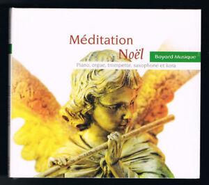 MEDITATION-NOEL-PIANO-ORGUE-TROMPETTE-SAXOPHONE-amp-KORA-20-TITRES-NEUF