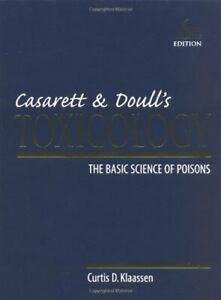 Casarett-amp-Doulls-Toxicology-The-Basic-Science-of-Poisons-6th-Edition