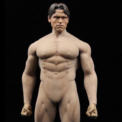 """1//6 Phicen PL2016-M34 Arnold Schwarzenegger Head Sculpt for 12/"""" Action Figure"""