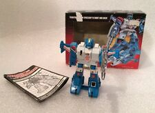 Transformers G1 1985 MB TOPSPIN jumperstarter in BOX milton bradley