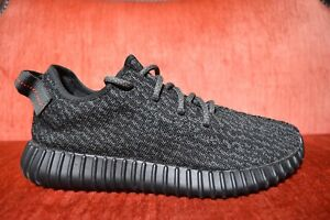 Details about 2016 Adidas Yeezy boost 350 Pirate Black 2016 size 8.5 BB5350 CLEAN