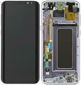 DISPLAY LCD ORIGINALE Samsung G955F Galaxy S8 PLUS VIOLET vetrino touch vetro sc