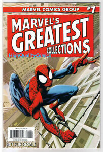MARVEL-GREATEST-COLLECTIONS-1-Spider-Man-Promo-2008-NM
