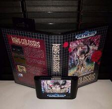 King Colossus - Video Game for Sega Genesis! Cart & Box!