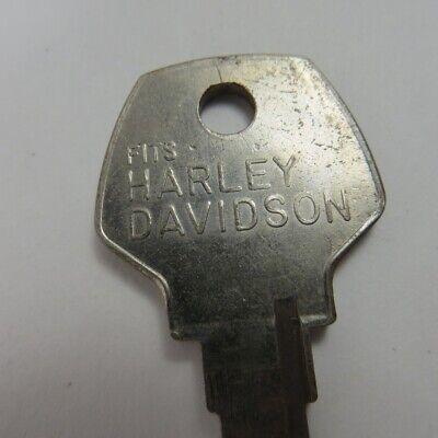 Vintage Original Harley Davidson Key #X101 UNCUT Key Taylor USA