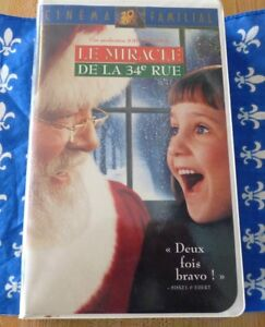 VHS-French-Movie-Le-Miracle-de-la-34e-Rue-Miracle-on-34th-Street-Fox