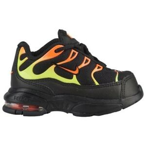 save off 9f896 c7d6b Details about TODDLER BOY: Nike Little Air Max Plus, Black Volt Orange -  Size 6C AR1891-001