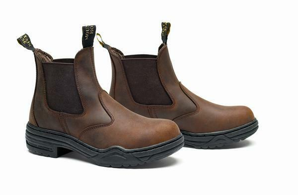 Mountain Horse Stable Yard Work Jodhpur Boots - Brown - Size 37 - 46 NEW