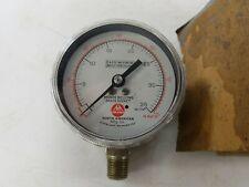 New Vintage Ashcroft Gauge 25 1191a Pressure Gauge New Open Box
