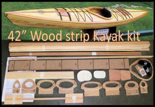 """Strip Kayak model kit 42/"""" long"""