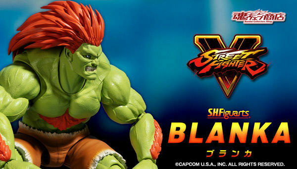 rue Fighter Blanka SH Figuarts  Action Figure  prix raisonnable